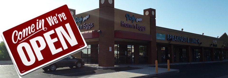 Peg's #9 in Las Vegas – NOW OPEN!